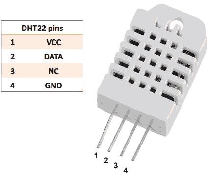 DHT22 Feuchtigkeitsensor Temperatursensor Pin Belegung Ramser Elektrotechnik Webshop