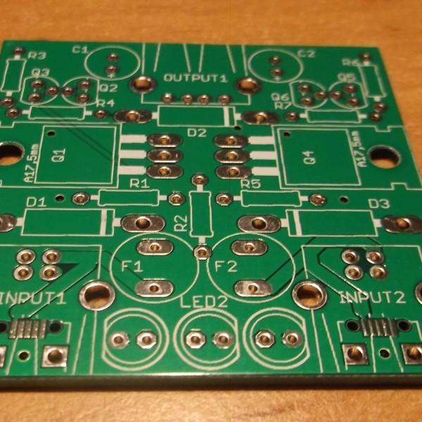 Leerplatine USB Redundanzmodul Ramser Elektrotechnik Webshop
