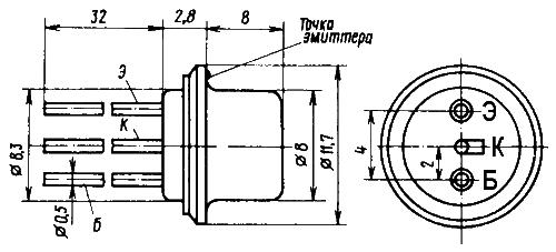 GT308B Germanium Transistor Pinbelegung Ramser Elektrotechnik Webshop