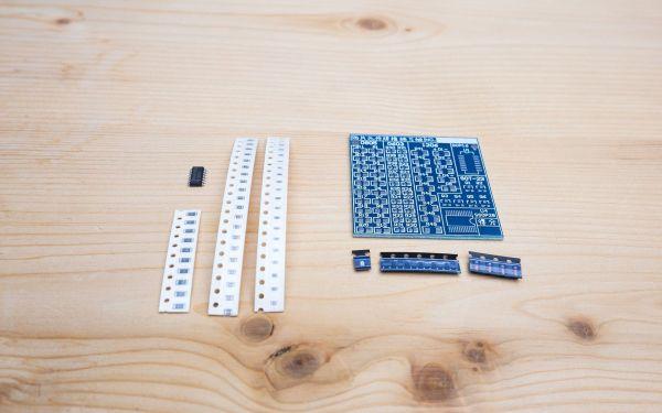 SMD Lötübungs Set 002 Ramser Elektrotechnik Webshop