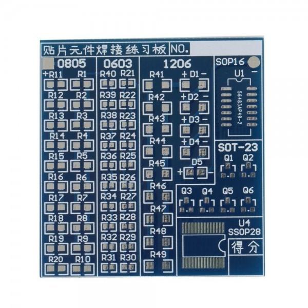 Smd Lötübungsplatine 002 Ramser Elektrotechnik Webshop