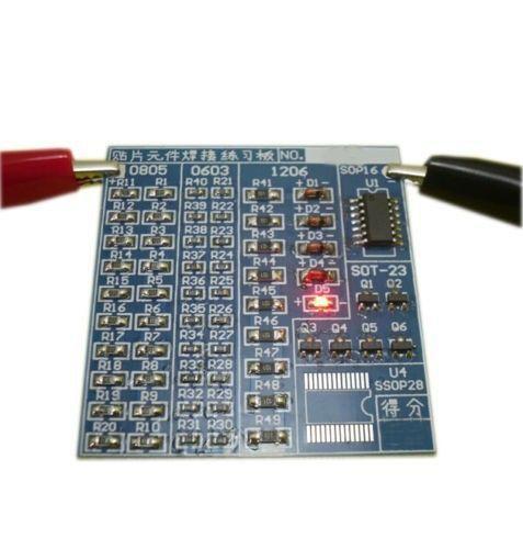 Smd Lötübungsplatine 003 Ramser Elektrotechnik Webshop