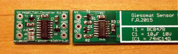 Frequenzteiler Pegelwandler 3 Ramser Elektrotechnik Webshop