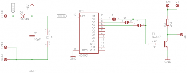 Frequenzteiler Pegelwandler Schaltplan Ramser Elektrotechnik Webshop