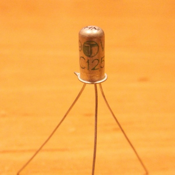 AC125 PNP 1 Germanium Transistor Ramser Elektrotechnik Webshop