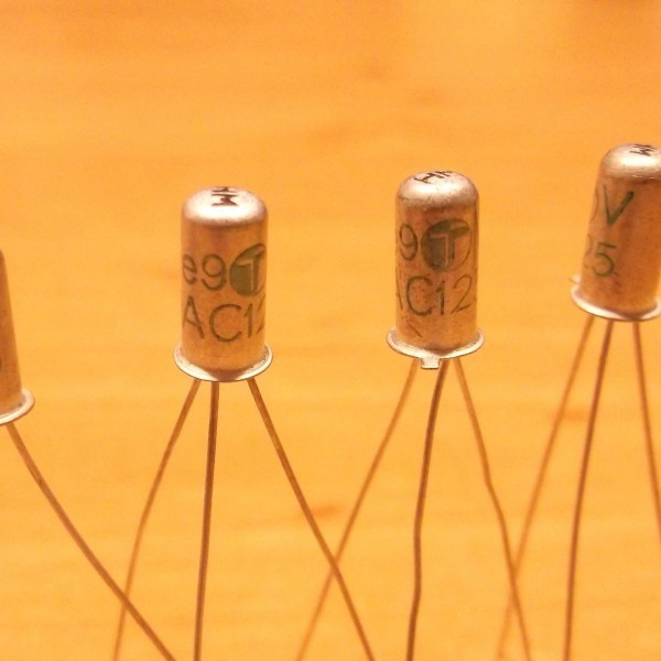 AC125 PNP 3 Germanium Transistor Ramser Elektrotechnik Webshop
