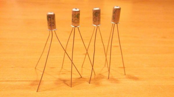 AC125 PNP 4 Germanium Transistor Ramser Elektrotechnik Webshop