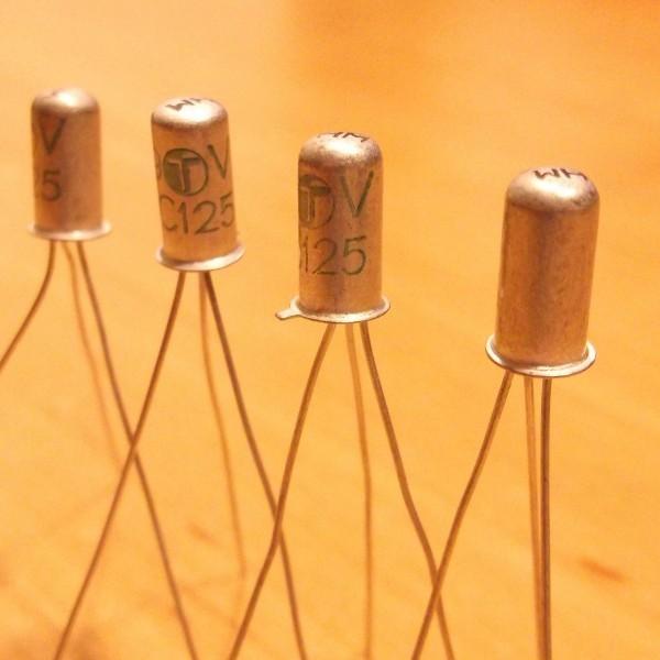 AC125 PNP 5 Germanium Transistor Ramser Elektrotechnik Webshop