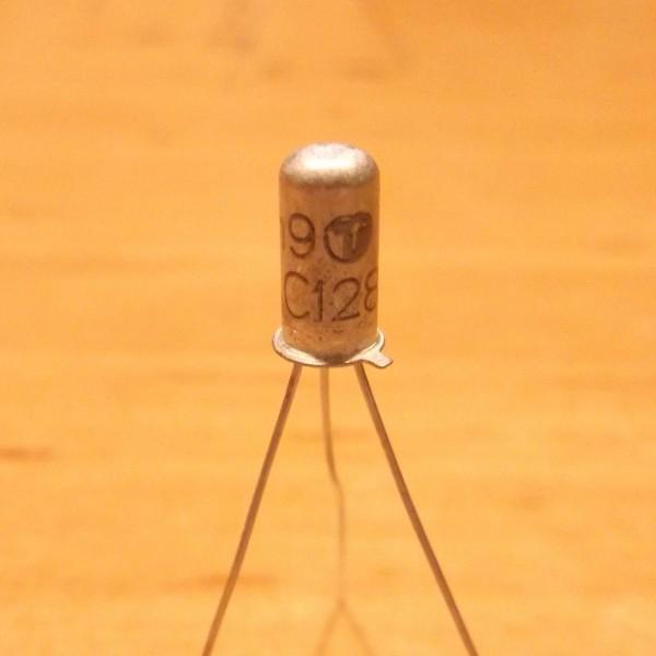 AC128 PNP 2 Germanium Transistor Ramser Elektrotechnik Webshop