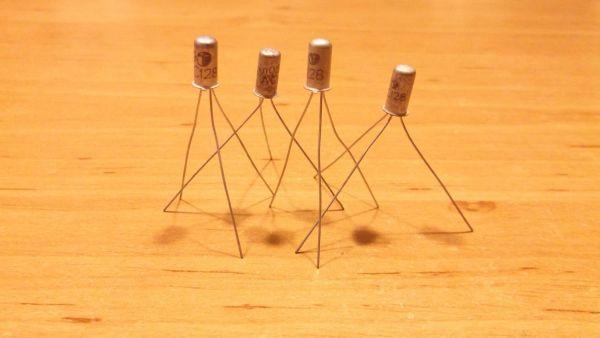AC128 PNP 4 Germanium Transistor Ramser Elektrotechnik Webshop