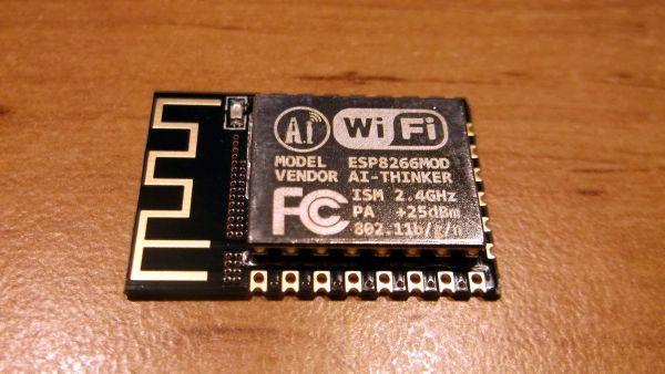 ESP8266 ESP12F WLAN Modul 12 - Ramser Elektrotechnik Webshop
