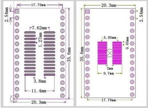 Universal SMD Adapter 5 Ramser Elektrotechnik Webshop