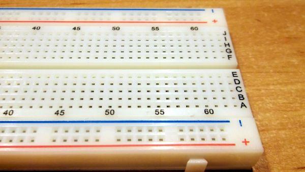 Breadboard / Steckbrett -1- Ramser Elektrotechnik Webshop