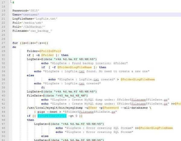 Scriptbeispiel MySQL4 Server auf Raspberry PI - Ramser Elektrotechnik Webshop