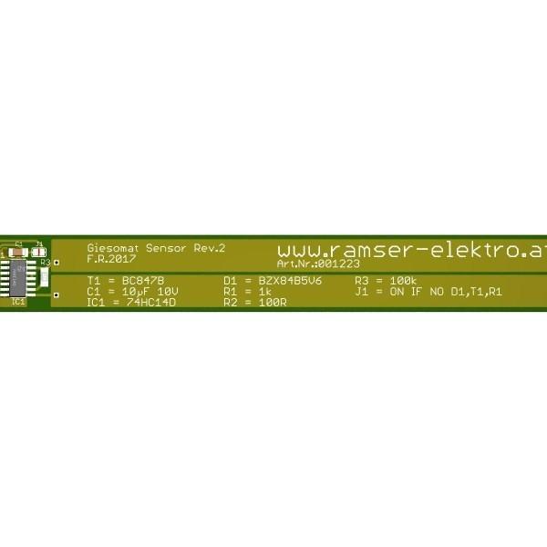Giesomat Sensor Revision 2 - Ramser Elektrotechnik - 3D Modell