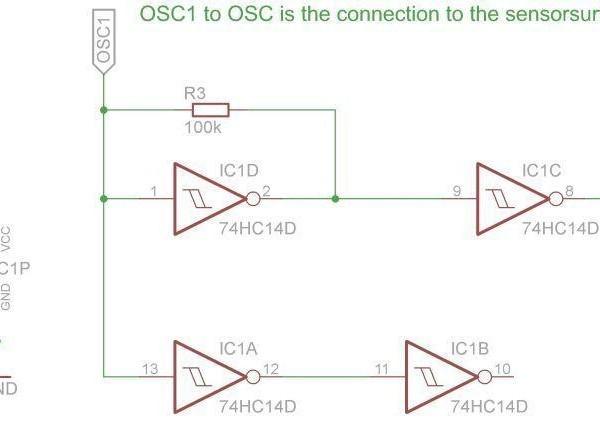 Giesomat Sensor Revision 2 - Ramser Elektrotechnik - Schaltplan