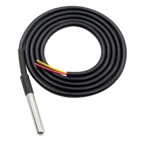 DS18B20 1wire Temperatursensor im Edelstahlgehäuse - Ramser Elektrotechnik Webshop - 1