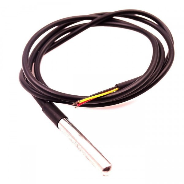 DS18B20 1wire Temperatursensor im Edelstahlgehäuse - Ramser Elektrotechnik Webshop - 4
