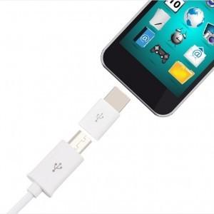 Micro USB auf USB C Adapter 2 - Ramser Elektrotechnik Webshop