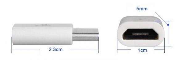 Micro USB auf USB C Adapter 4 - Ramser Elektrotechnik Webshop