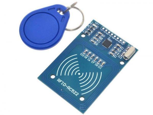RFID Module RFID Reader NFC Reader NFC Module RC522 RC-522 13,56 Mhz - Ramser Elektrotechnik - Shop - 2