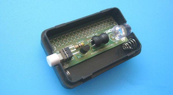 Bausatz - LED Taschenlampe mit Gehäuse - Ramser Elektrotechnik Webshop 3