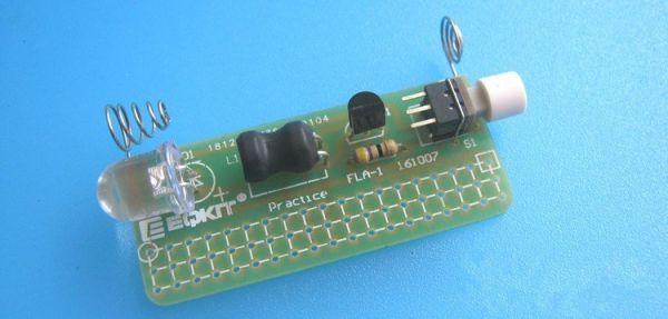 Bausatz - LED Taschenlampe mit Gehäuse - Ramser Elektrotechnik Webshop 5