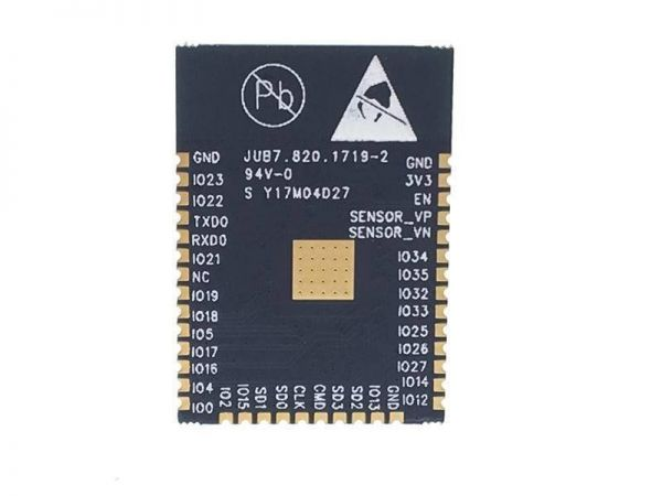 ESP32 WROOM 32 WLAN Modul - 3- Ramser Elektrotechnik Webshop