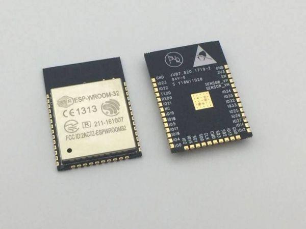 ESP32 WROOM 32 WLAN Modul - 5- Ramser Elektrotechnik Webshop