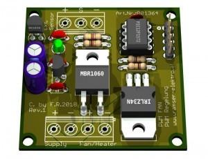PWM FAN Lüfter-Heizungs Regelung 6- Ramser Elektrotechnik Webshop