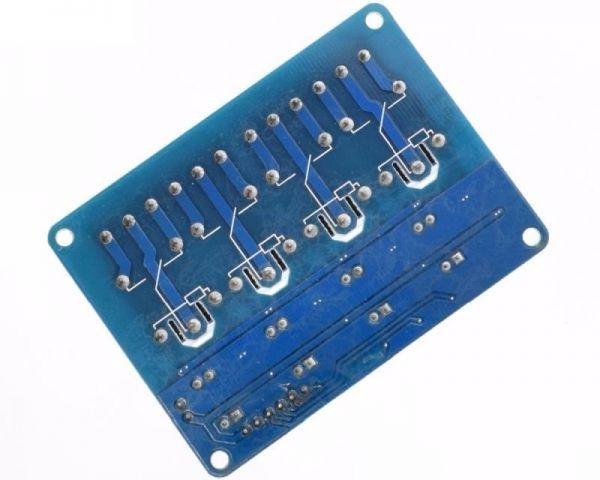 Universal 4 fach Relais Modul 4 - Ramser Elektrotechnik Webshop
