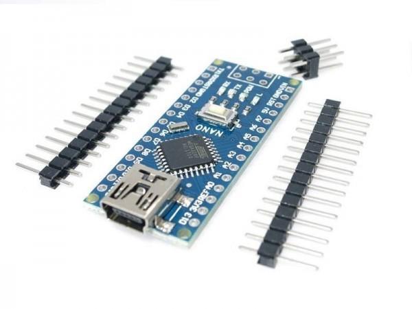 MINI USB Nano V3.0 mit ATmega328P 6- Ramser Elektrotechnik Shop