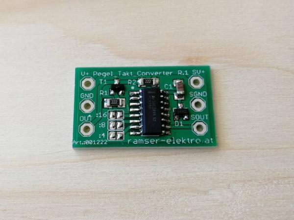 Pegel Frequenzteiler Friedrich Ramser Elektrotechnik Webshop