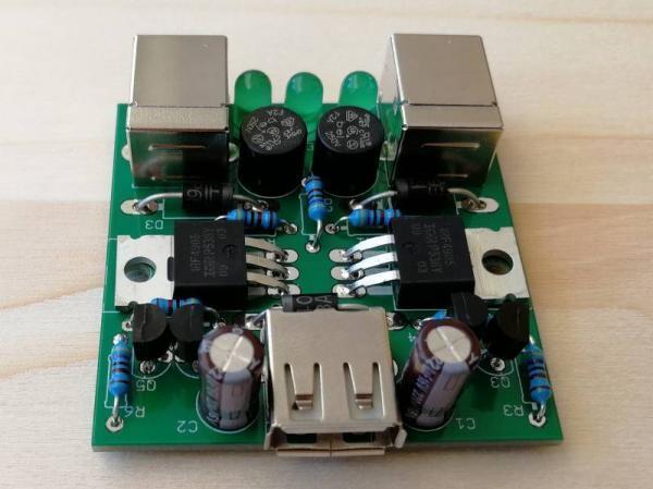 USB Redundanzmodul Perfekte Diode 1 - Ramser Elektrotechnik Webshop