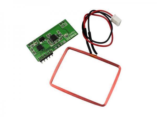 125kHz RFID Reader mit UART 1 - Ramser Elektrotechnik Webshop