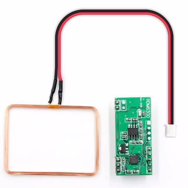 125kHz RFID Reader mit UART 3 - Ramser Elektrotechnik Webshop