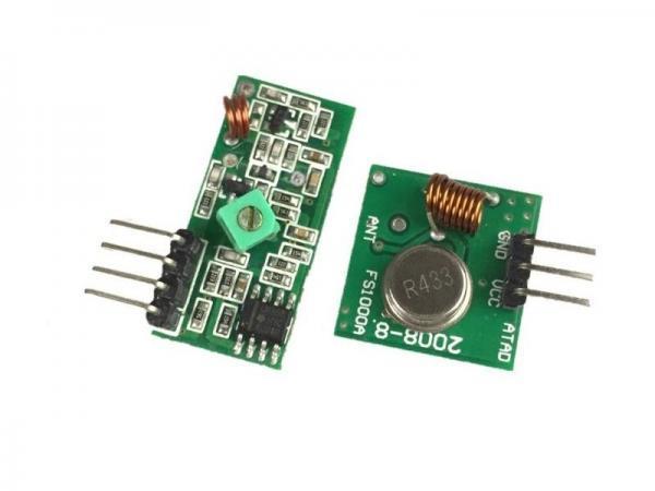 433 Mhz Funkmodule - Sender und Empfänger 1 - Ramser Elektrotechnik Webshop