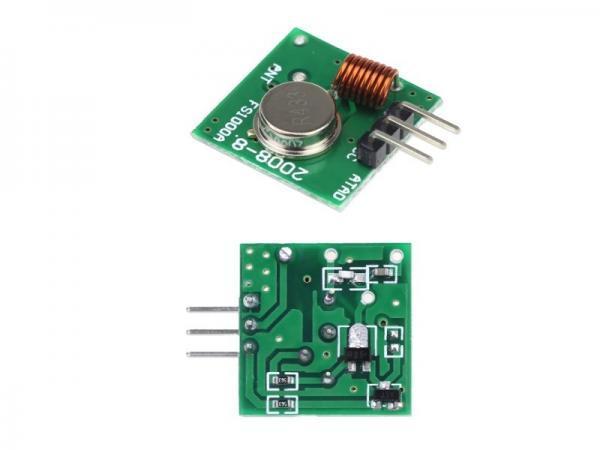 433 Mhz Funkmodule - Sender und Empfänger 3 - Ramser Elektrotechnik Webshop