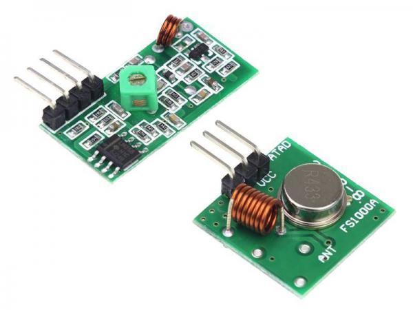 433 Mhz Funkmodule - Sender und Empfänger 4 - Ramser Elektrotechnik Webshop