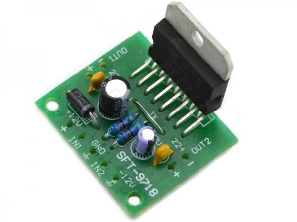 TDA7297 Stereo Amplifier DIY Kit 2 - Ramser Elektrotechnik Webshop