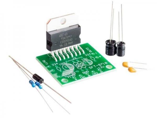 TDA7297 Stereo Amplifier DIY Kit 4- Ramser Elektrotechnik Webshop