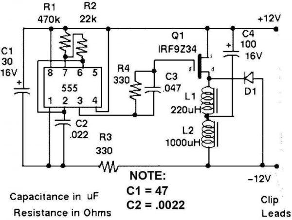 Desulfator Autobatterie Akku Regenerator 6 - Ramser Elektrotechnik Webshop