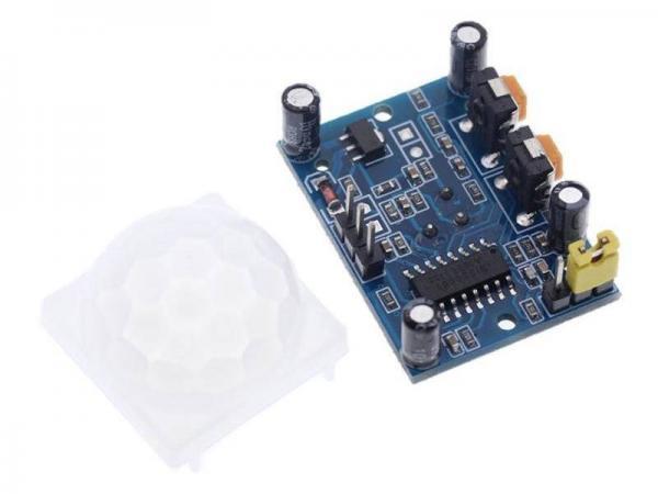 PIR Infrarot Sensor SRR501 4 - Ramser Elektrotechnik Webshop