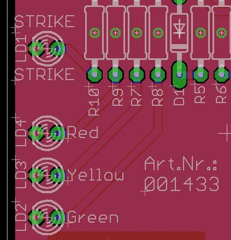Arduino Blitzdetektor Shield LED Ausrichtung - Ramser Elektrotechnik Webshop