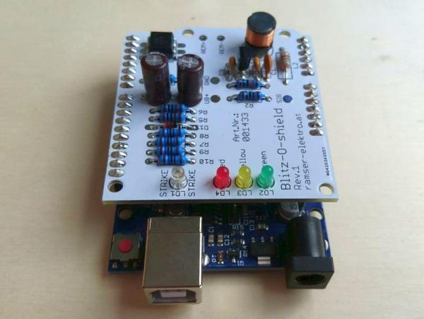 Arduino Blitzdetektor Shield - Ramser Elektrotechnik Webshop 00