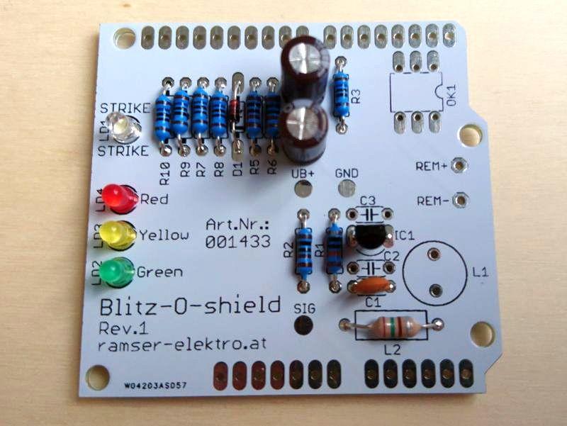 Arduino Blitzdetektor Shield - Ramser Elektrotechnik Webshop 6