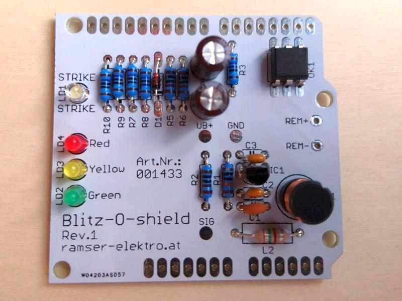 Arduino Blitzdetektor Shield - Ramser Elektrotechnik Webshop 7