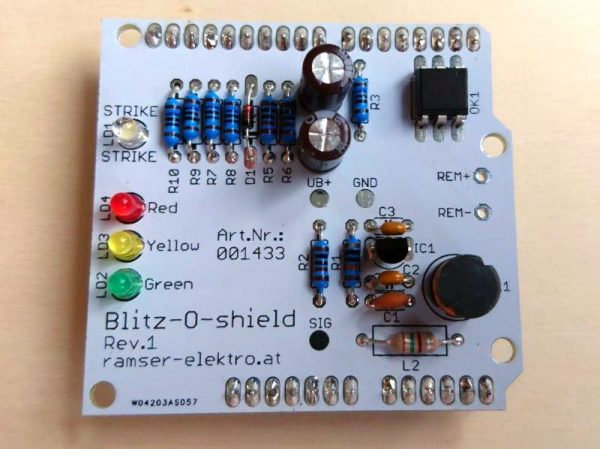 Arduino Blitzdetektor Shield - Ramser Elektrotechnik Webshop 8