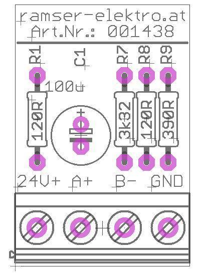 Platine R0 Aktiver MB Terminator - Ramser Elektrotechnik Webshop