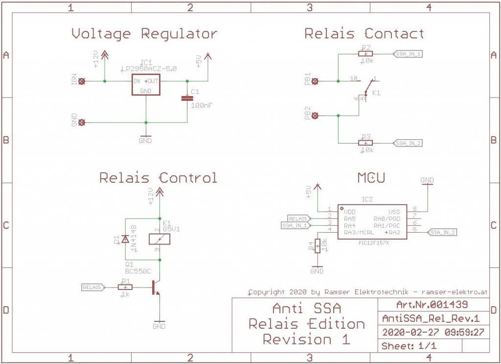 Start Stop Automatik Deaktivieren Schematic R1 - R